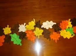 felt leaves table runner felt leaves sewing projects and