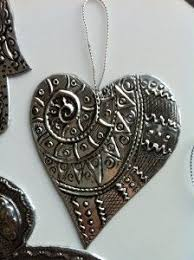 sided embossed metal ornaments i m going to try the faux