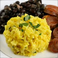 y is for yellow rice arroz amarillo