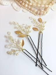 pearl hair pins best 25 pearl hair pins ideas on ivory pearl bridal