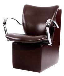 salon chair covers dryer chair with rounded chrome handles pl752e espresso brown