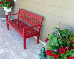 Front Porch Bench Front Porch Red Bench In The North Pinterest Red Bench