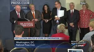 conservative activists discuss post election priorities nov 9