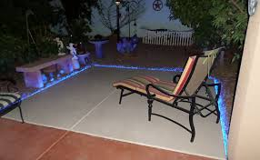 Patio Led Lights Inspired Led Outdoor Lighting Blue Lighting On Patio