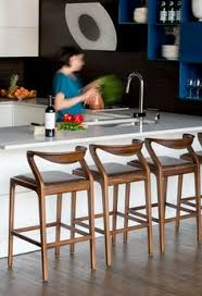 counter stools for kitchen island navy wood and grey kitchen designed by grant k gibson at