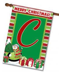 monogram christmas monogram christmas flags flagology