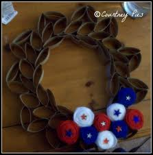toilet paper roll wreath tutorial optimistic mommy