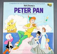 1969 walt disney u0027s peter pan story songs vinyl lp 3910 vg