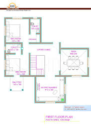 300 Sq Ft House Floor Plan by Home Plan And Elevation 2670 Sq Ft Home Appliance