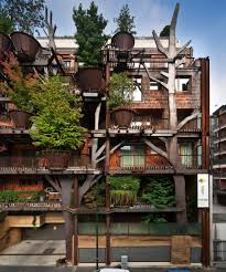 treehouse apartment building sustainable and totally amazing