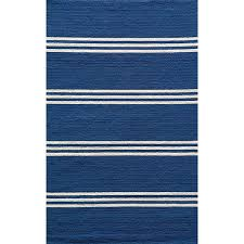 Stripe Indoor Outdoor Rug Momeni Veranda Maritime Blue Stripes Indoor Outdoor Rug 5 X 8