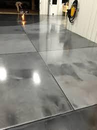 Industrial Concrete Floor Coatings Metallic Epoxy Floor Coatings With Epoxy Grout Lines By Sierra