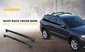 jeep grand cross rails amazon com auxmart roof rack crossbars for jeep grand