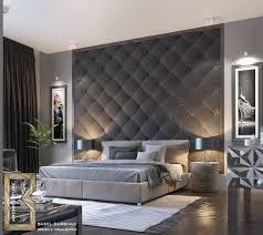 Schlafzimmer Ideen Wandgestaltung Grau Moderne Dekoration Und Platzsparende Möbel Abwechselnd Grau