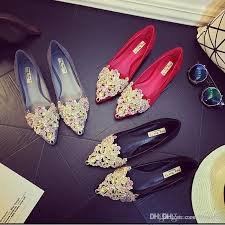 wedding shoes adelaide luxurious flats wedding bridal shoes for pointed toe