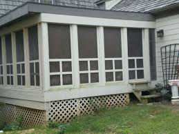 Screen Kits For Porch by Patio Ideas Screened Patio Enclosures In Florida Screen Porch