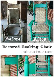 Vintage Rocking Chairs 100 Year Old Restored Rocking Chair