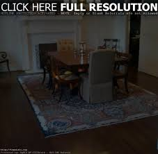 emejing area rug size for dining room pictures home design ideas