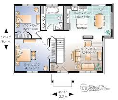 w3117 bright 2 bedroom single storey small craftsman house