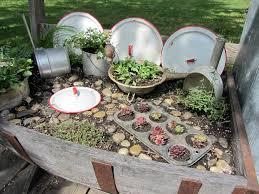 Diy Fairy Garden Ideas by Organized Clutter Kitchen Fairy Garden