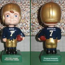 notre dame fighting custom from bobbleheadcity on etsy