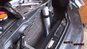 receiver drier replacement 2002 mitsubishi lancer youtube