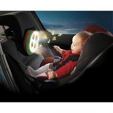 baby car mirror with light lights and sound car mirror