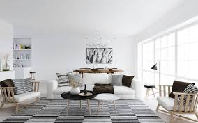 Black And White Living Room Rug Scandinavian Living Room Design Ideas U0026 Inspiration