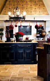 distressed black kitchen island home decor ideas country kitchen with a distressed black