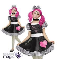 Halloween Baby Doll Costumes Creepy Doll Makeup Costume Creepy Doll Costume Costumes