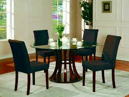 dinning glass table black glass dining table extendable glass