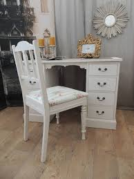 shabby chic writing desk lovely small shabby chic desk with antique chair u2013 eclectivo