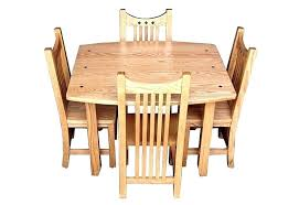 wooden table and chair set for pedestal table and chairs oak pedestal dining table and chairs