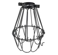 wire guards for light fixtures industrial vintage style black hanging pendant light fixture metal