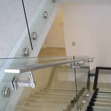 Banister Brackets Handrails U0026 Handrail Brackets Vetro Raccordi Glass Fittings