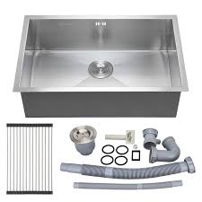 Drop In Stainless Steel Sink Kitchen Horizon Single Bowl Drop In Stainless Steel Kitchen Sink