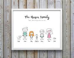 family portrait etsy