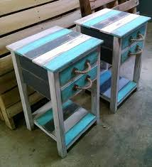 Patio Furniture Made Of Pallets by Rustic Pallet End Tables 99 Pallets