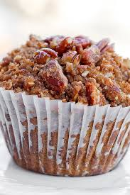 Pumpkin Bars With Crumb Topping Pumpkin Pecan Muffins With Cinnamon Sugar Crumble Topping What U0027s