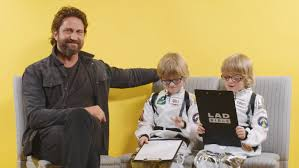 Challenge Lad Bible Gerard Butler S With Two Eight Year Olds Is His Toughest