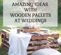 Pallet Wedding Decor Diy Wedding Decor The Wedding Of My Dreams Blog