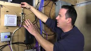 Home Network Design Switch Organize Your Low Voltage Home Network Wiring Youtube