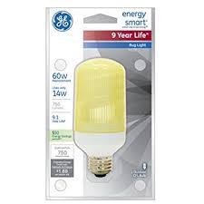 bug light light bulbs amazon com ge lighting 47464 energy smart cfl bug light 14 watt 60