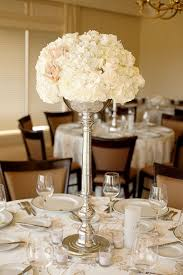 hydrangea wedding centerpieces hydrangeas centerpiece wedding flowers ivory