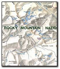 Rmnp Map Maps The Tides Of God