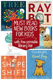 6 must read new preschool books plus a free printable library list