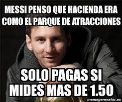 Memes Sobre Messi - memes sobre los 21 meses de sentencia de prision de messi humor