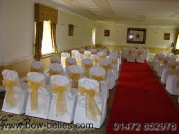 White Chair Cover Wedding Chair Cover Hire