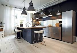 wood manchester door chestnut modern kitchen lighting ideas sink