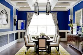 blue painted dining table astounding blue room ideas for dining room contemporary design ideas